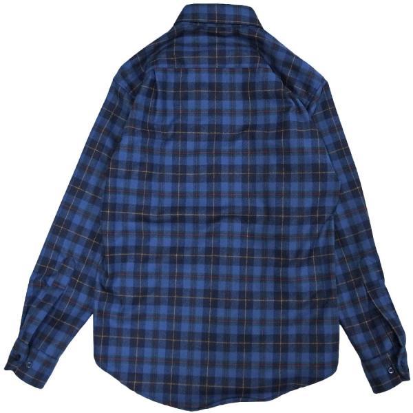 メンズ シャツ 長袖 ペンドルトン PENDLETON フランネルウール aa043 FLANNEL L S WOOL SHIRT 3カラー OOO|blueism-y|04