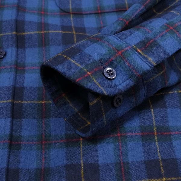 メンズ シャツ 長袖 ペンドルトン PENDLETON フランネルウール aa043 FLANNEL L S WOOL SHIRT 3カラー OOO|blueism-y|06