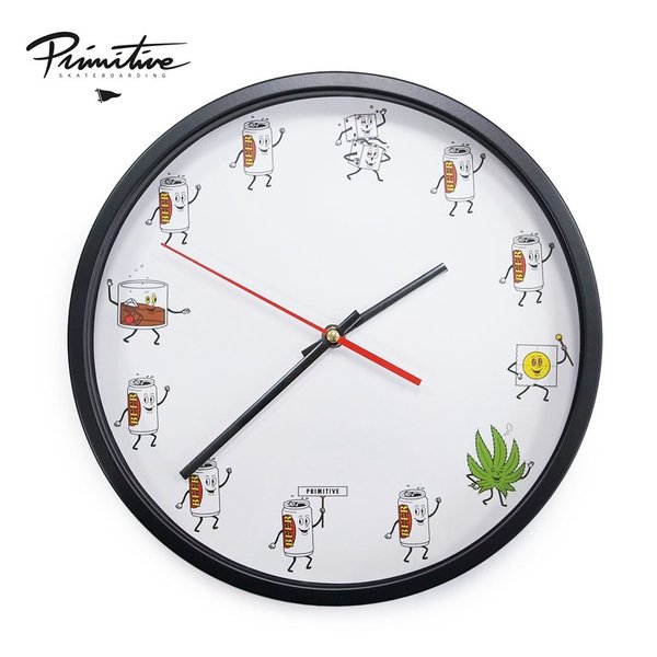 PRIMITIVE プリミティブ PARTY TRAIN WALL CLOCK