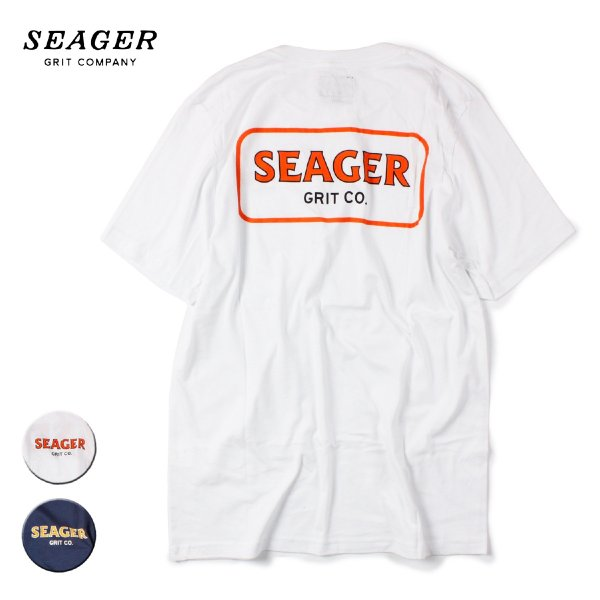 SEAGER シーガー FLOYD POCKET TEE