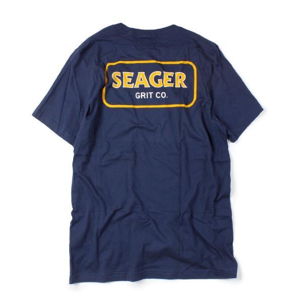 Tシャツ ブランド メンズ レディース サーフ アメカジ バイク アウトドア サーフブランド サーファー ウィメンズ ペア 半袖Tシャツ SEAGER|blueism-y|05