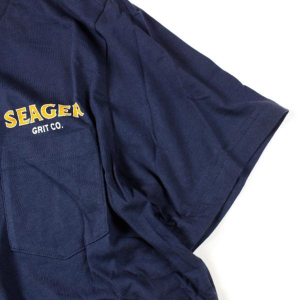 Tシャツ ブランド メンズ レディース サーフ アメカジ バイク アウトドア サーフブランド サーファー ウィメンズ ペア 半袖Tシャツ SEAGER|blueism-y|06
