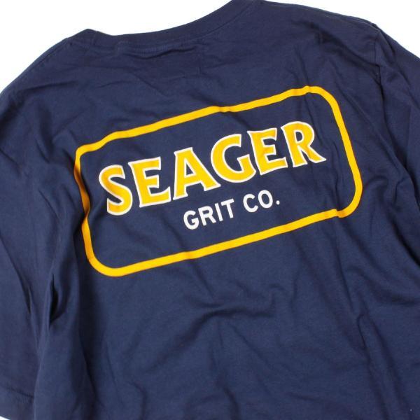 Tシャツ ブランド メンズ レディース サーフ アメカジ バイク アウトドア サーフブランド サーファー ウィメンズ ペア 半袖Tシャツ SEAGER|blueism-y|09