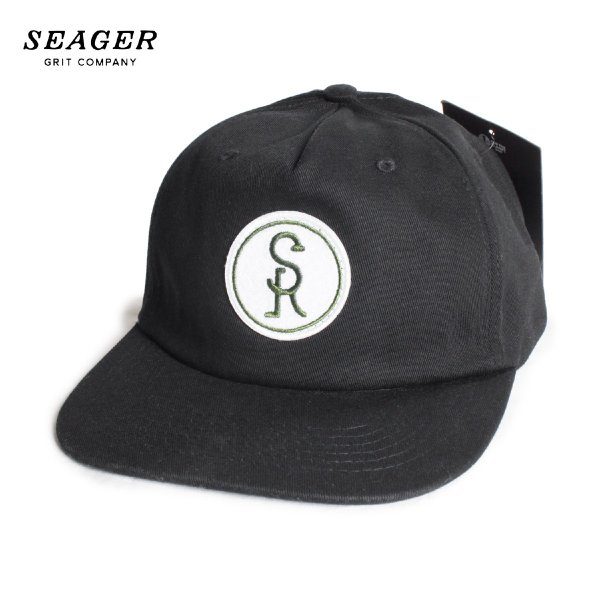 SEAGER シーガー BRANDED 5 PANEL STRAPBACK