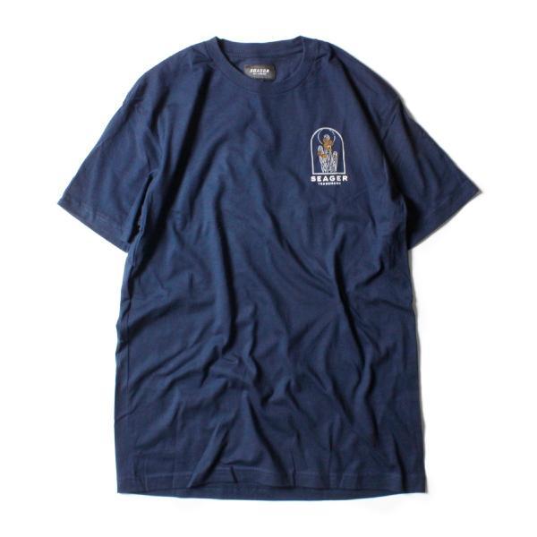 Tシャツ ブランド メンズ レディース サーフ アメカジ バイク アウトドア サーフブランド サーファー ウィメンズ ペア 半袖Tシャツ SEAGER|blueism-y|02