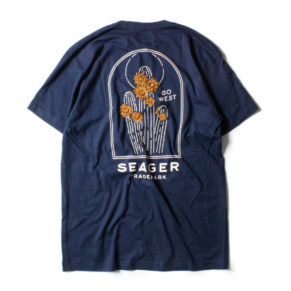Tシャツ ブランド メンズ レディース サーフ アメカジ バイク アウトドア サーフブランド サーファー ウィメンズ ペア 半袖Tシャツ SEAGER|blueism-y|03