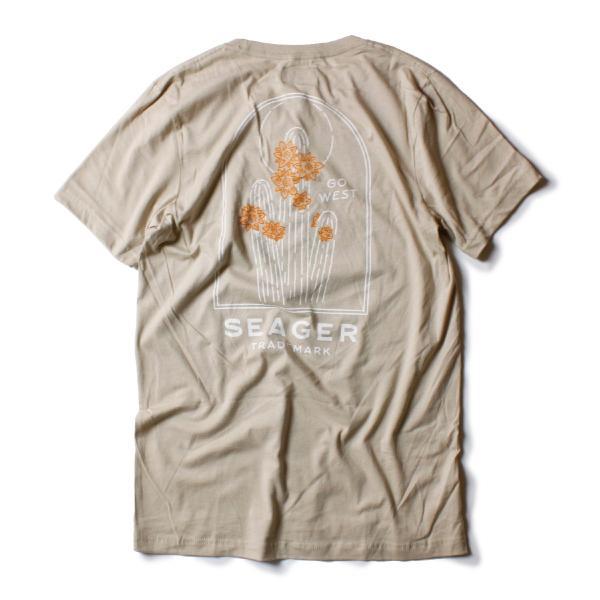 Tシャツ ブランド メンズ レディース サーフ アメカジ バイク アウトドア サーフブランド サーファー ウィメンズ ペア 半袖Tシャツ SEAGER|blueism-y|07