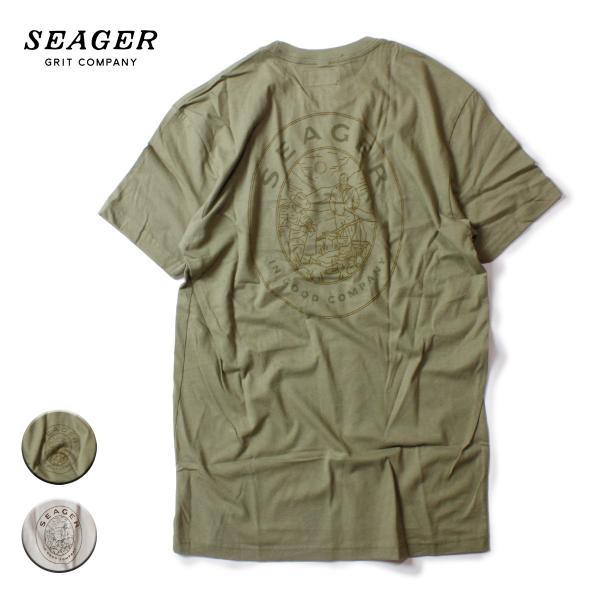 SEAGER シーガー GOOD COMPANY TEE
