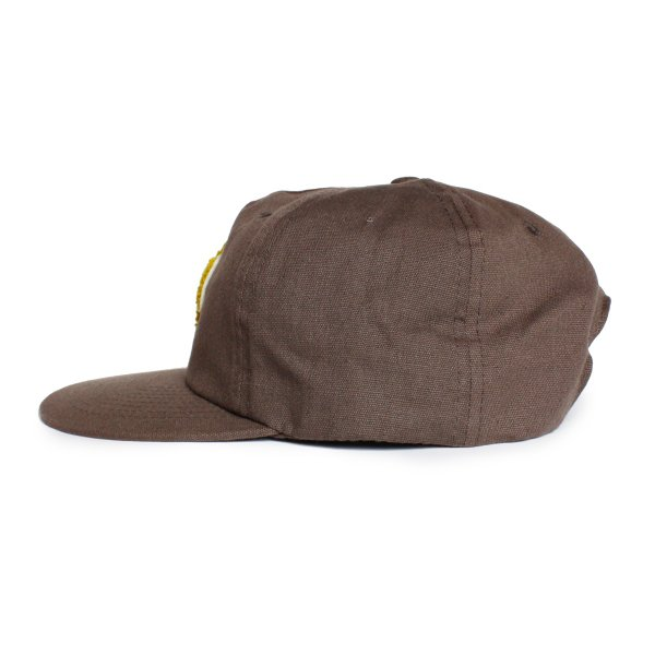 帽子 キャップ メンズ ブランド レディース サーフブランド サーフキャップ 20代 30代 コラボレーション 海外 SEAGER ALMOND 茶|blueism-y|02