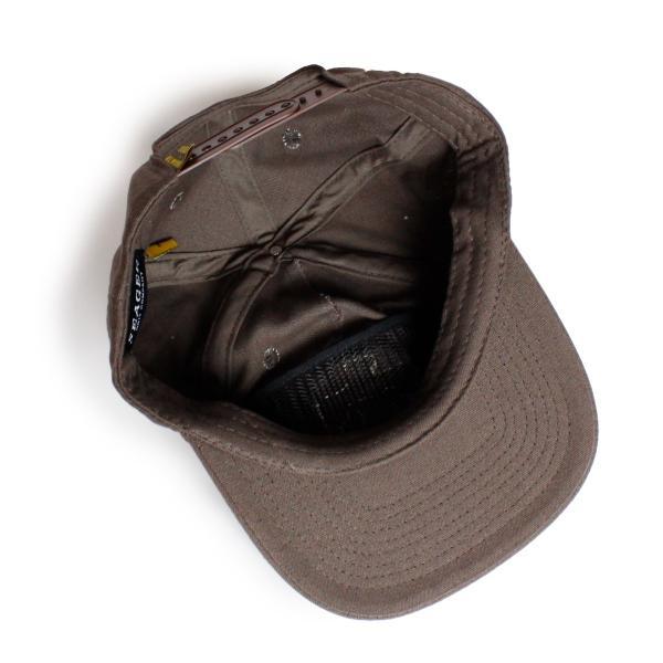 帽子 キャップ メンズ ブランド レディース サーフブランド サーフキャップ 20代 30代 コラボレーション 海外 SEAGER ALMOND 茶|blueism-y|04