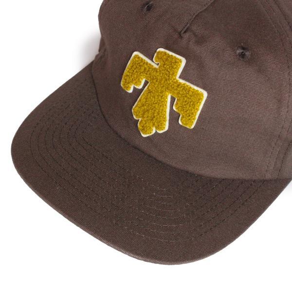 帽子 キャップ メンズ ブランド レディース サーフブランド サーフキャップ 20代 30代 コラボレーション 海外 SEAGER ALMOND 茶|blueism-y|05