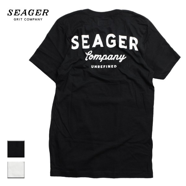 SEAGER シーガー COMPANY TEE VINTAGE