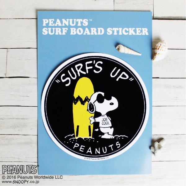 SURF'S UP SNOOPY PEANUTS SURF BOARD STICKER