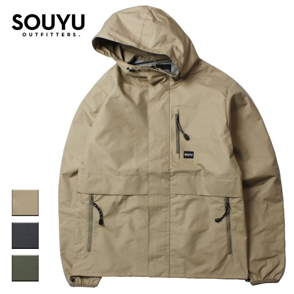 SOUYU OUTFITTERS ソーユーアウトフィッターズ SHELL JACKET