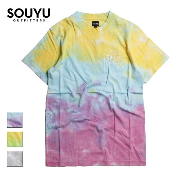 SOUYU OUTFITTERS ソーユーアウトフィッターズ SLIDER TIE DYE TEE