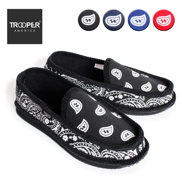 TROOPER AMERICA トゥルーパーアメリカ BANDANA SLIPPER