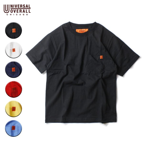 UNIVERSAL OVERALL ユニバーサルオーバーオール POCKET TEE