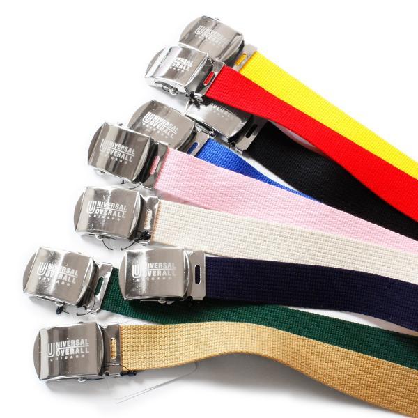 ベルト ガチャベルト ブランド メンズ レディース カラー ユニバーサルオーバーオール カジュアル 日本製 穴なしベルト UV0846I|blueism-y|02