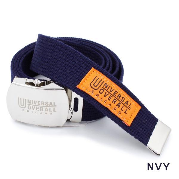 ベルト ガチャベルト ブランド メンズ レディース カラー ユニバーサルオーバーオール カジュアル 日本製 穴なしベルト UV0846I|blueism-y|05