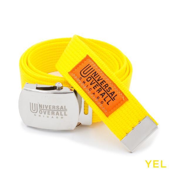 ベルト ガチャベルト ブランド メンズ レディース カラー ユニバーサルオーバーオール カジュアル 日本製 穴なしベルト UV0846I|blueism-y|09