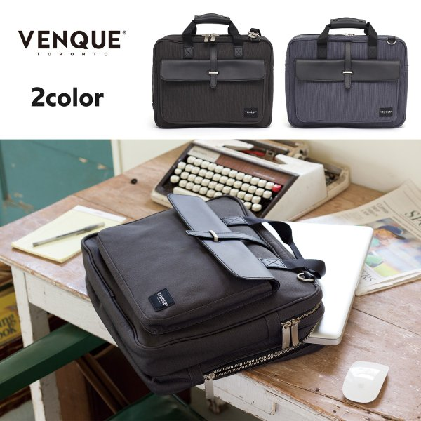 VENQUE ヴェンク CANVAS EDITION AIX PRO BRIEFCASE 2カラー