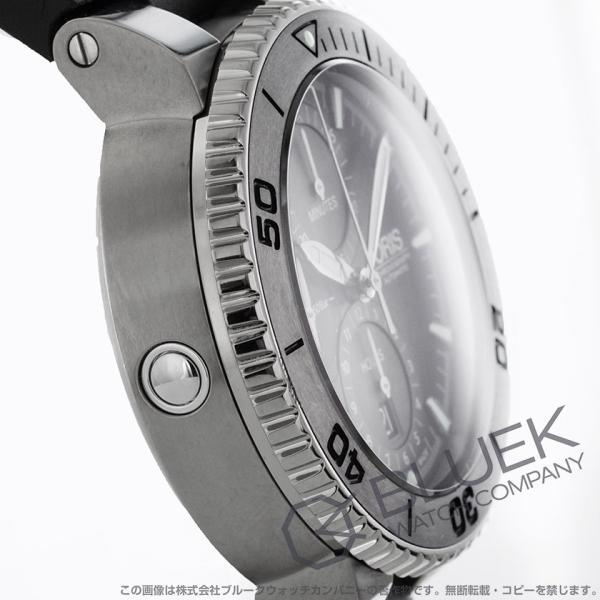 オリス ORIS 腕時計 アクイス チタン 500m防水 メンズ 674 7655 7253R_8|bluek|03