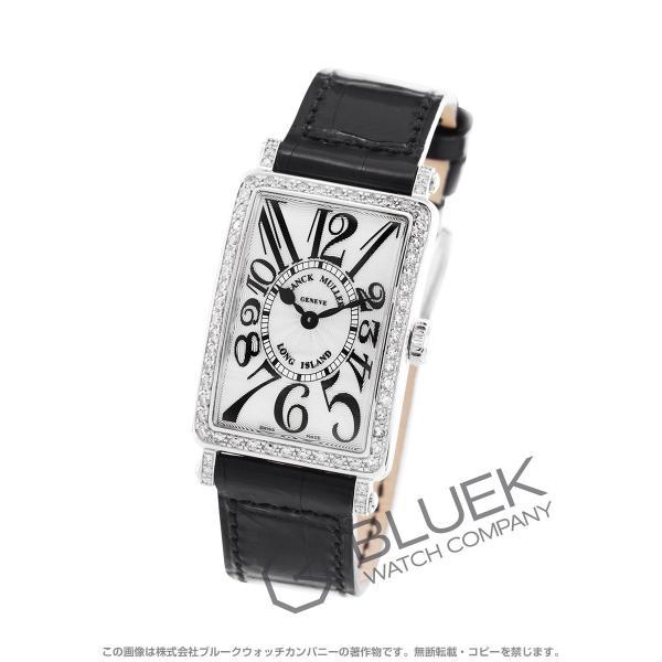 quality design 106b2 1e45a フランクミュラー ロングアイランド ダイヤ クロコレザー 腕時計 レディース FRANCK MULLER 902 QZ D 1R