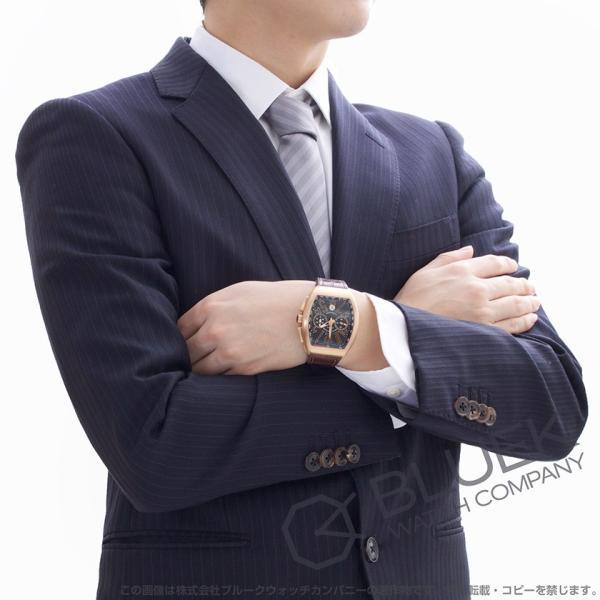 e861fb9770 ... フランクミュラー ヴァンガード クロノグラフ PG金無垢 クロコレザー 腕時計 メンズ FRANCK MULLER V ...