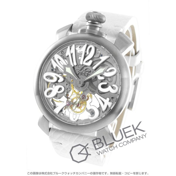 buy popular 763a0 e245f ガガミラノ マヌアーレ48MM スケルトン 腕時計 メンズ GaGa MILANO 5310.01S