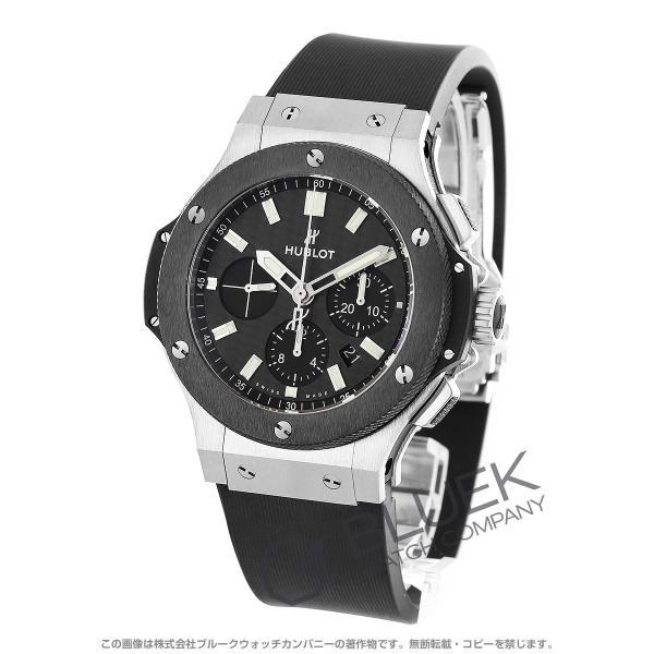 new style fe799 09df4 ウブロ ビッグバン スチールセラミック クロノグラフ 腕時計 メンズ HUBLOT 301.SM.1770.RX