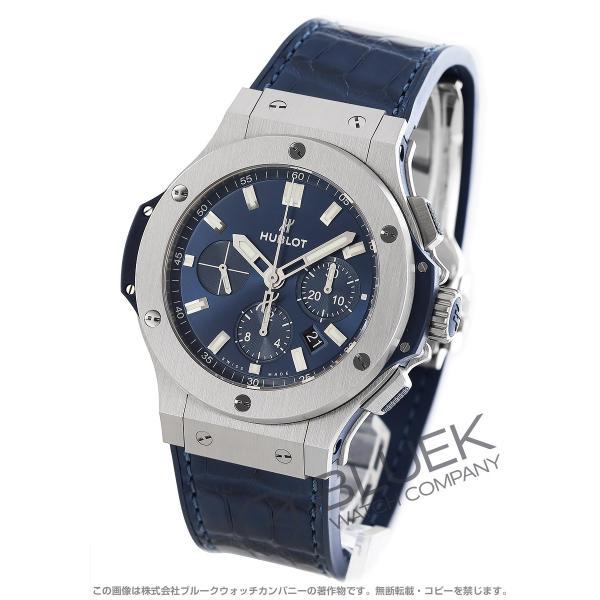 size 40 c1b74 5858a ウブロ ビッグバン スチール クロノグラフ アリゲーターレザー 腕時計 メンズ HUBLOT 301.SX.7170.LR