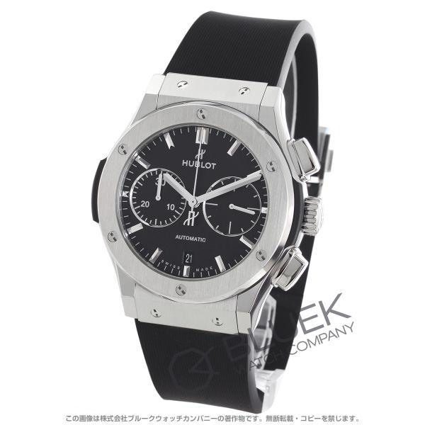 new concept d8994 7a084 ウブロ クラシック フュージョン チタニウム クロノグラフ 腕時計 メンズ HUBLOT 521.NX.1171.RX