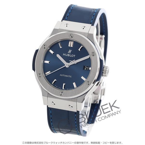 cheap for discount e7693 81013 ウブロ クラシック フュージョン チタニウム アリゲーターレザー 腕時計 ユニセックス HUBLOT 565.NX.7170.LR