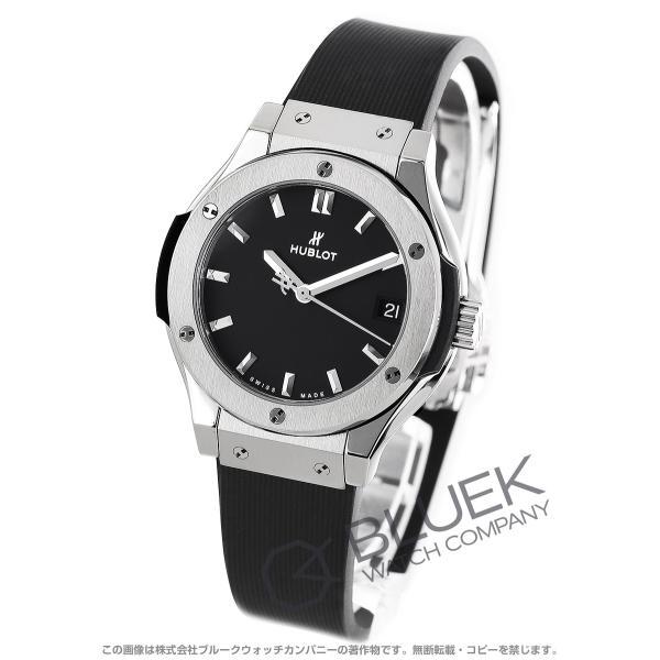 wholesale dealer 1abb1 719a1 ウブロ クラシック フュージョン チタニウム 腕時計 レディース HUBLOT 581.NX.1171.RX
