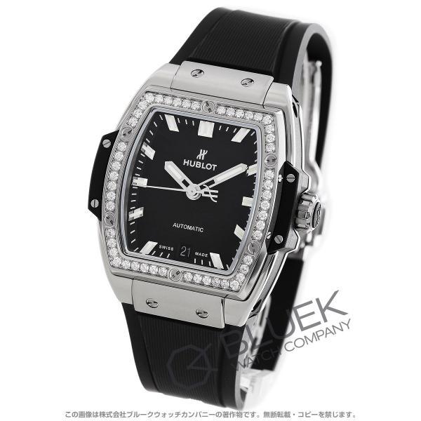 premium selection 90227 76994 ウブロ スピリット オブ ビッグバン チタニウム ダイヤ 腕時計 ユニセックス HUBLOT 665.NX.1170.RX.1204