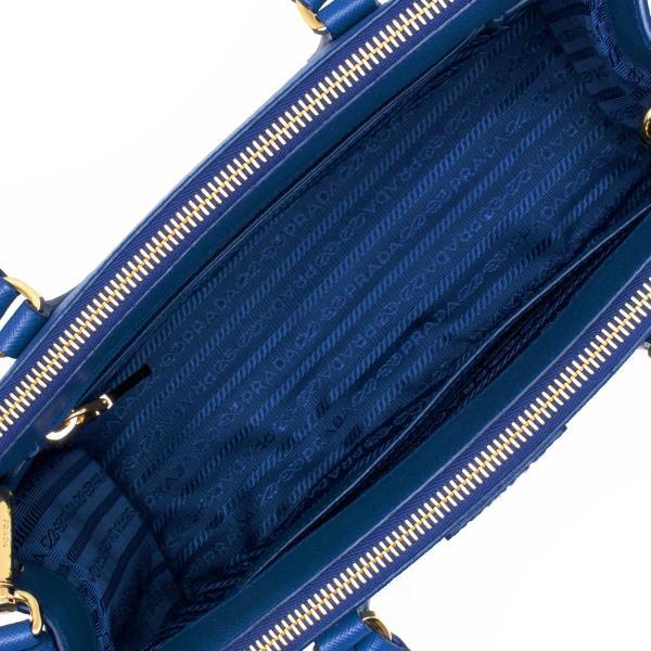 プラダ トートバッグ/ショルダーバッグ バッグ レディース サフィアーノ ラックス SAFFIANO LUX 三角ロゴプレート アズーロブルー 1BA863 NZV F0013 PRADA