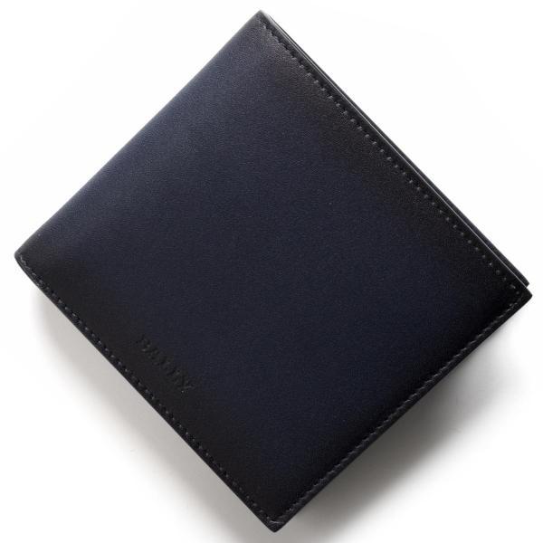 on sale 8ae67 96211 バリー 二つ折り財布 財布 メンズ セイセル グラデーション インクブルー SEISEL S 27 6224247 BALLY