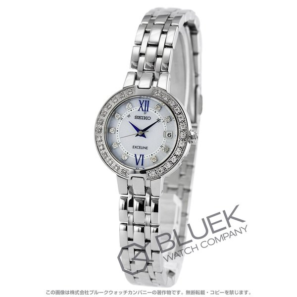 cheap for discount c4a47 6de8b セイコー エクセリーヌ ダイヤ 腕時計 レディース SEIKO SWCW083