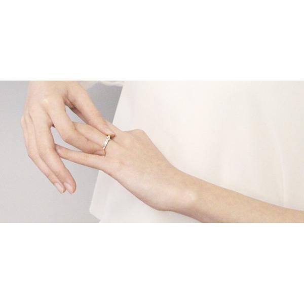 一粒ダイヤモンドリング 天然石ダイヤモンド0.1ct 指輪 シルバー レディース ダイヤ指輪|bluelace|04