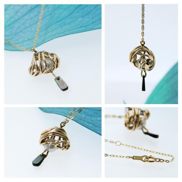 あこや真珠 ネックレス ペンダント あこや真珠の一粒ペンダント 本物 アコヤ真珠 レディース 風鈴 和|bluelace|02