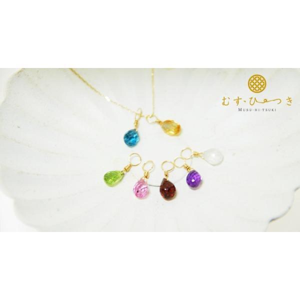 K10 天然石 チャーム ペンダントトップ|bluelace|02