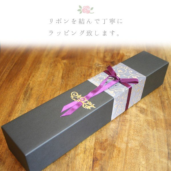 プリザーブドフラワー 幸せのブルーローズ(バラを1本添えて) お花のギフト|bluelace|02