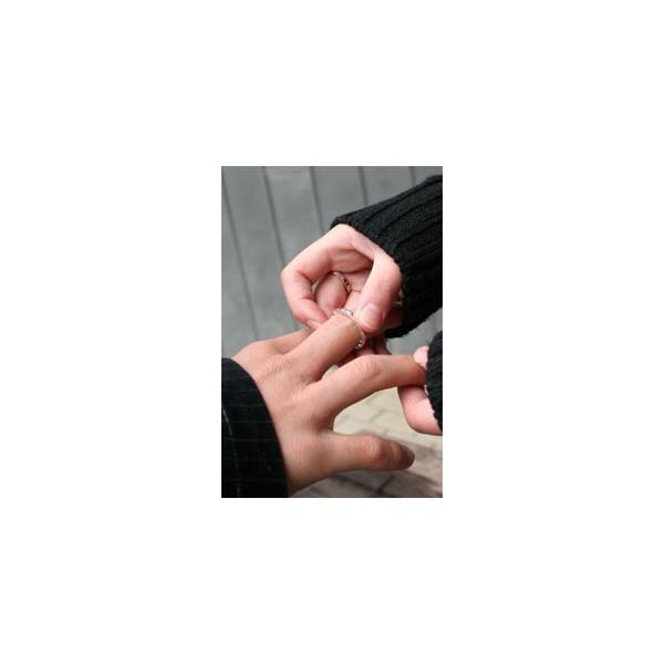 指輪 ペア ペアリング 刻印無料 シルバー オーダーメイド|bluelace|04