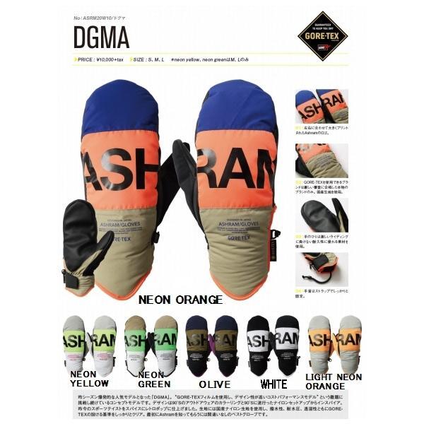 【スノーミトングローブ】ASHRAM(アシュラム) DGMA(ドグマ)GORE-TEX(ゴアテックス)【750】