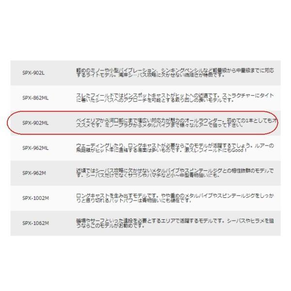 釣り ロッド MajorCraft ソルパラ SOLPARA SPX-902ML 【510】