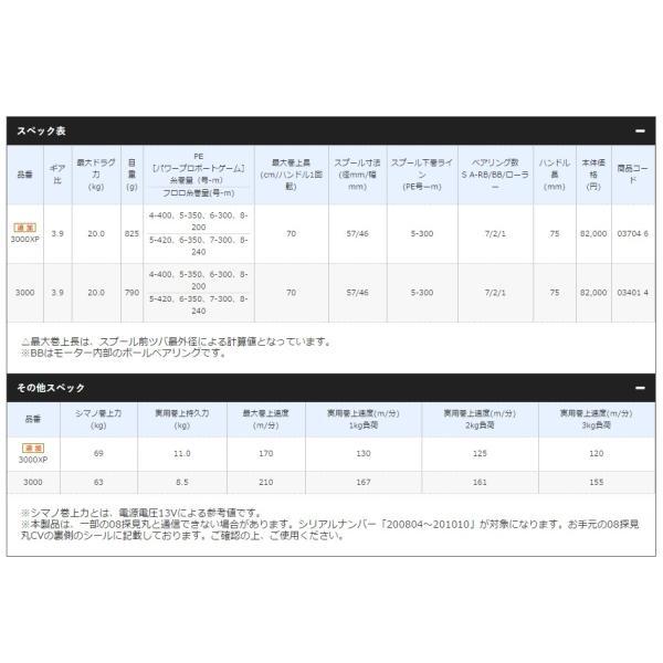 釣り 電動リール SHIMANO フォースマスター 3000 【510】