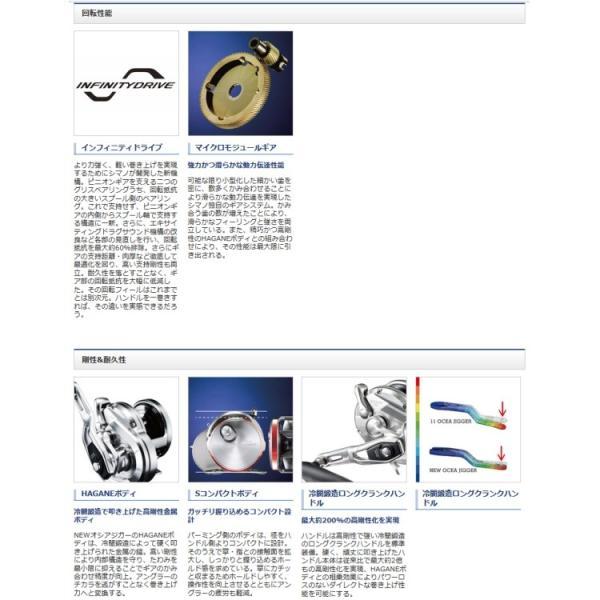 釣り リール SHIMANO オシアジガー OCEA JIGGER 1500PG【510】