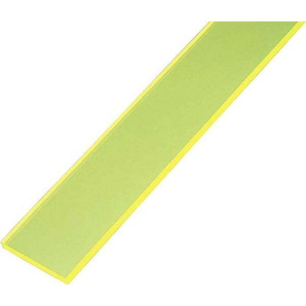 【内装工具】極東産機 PC直定規(グリーン)長さ1300mm×幅70mm×厚み5mm 61-3018【527】