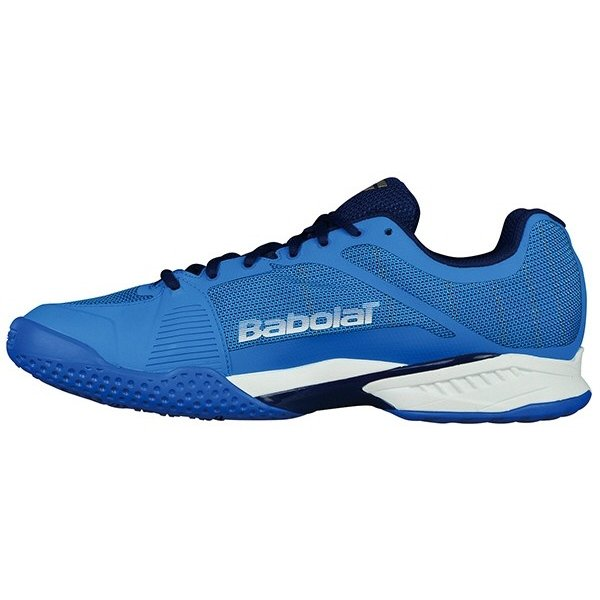【テニスシューズ】BABOLAT(バボラ) JET MACH 1 OMNI M(ジェットマッハ1 オムニ メンズ) オムニ・クレーコート用 BAS18687-DBWE【350】|bluepeter|02