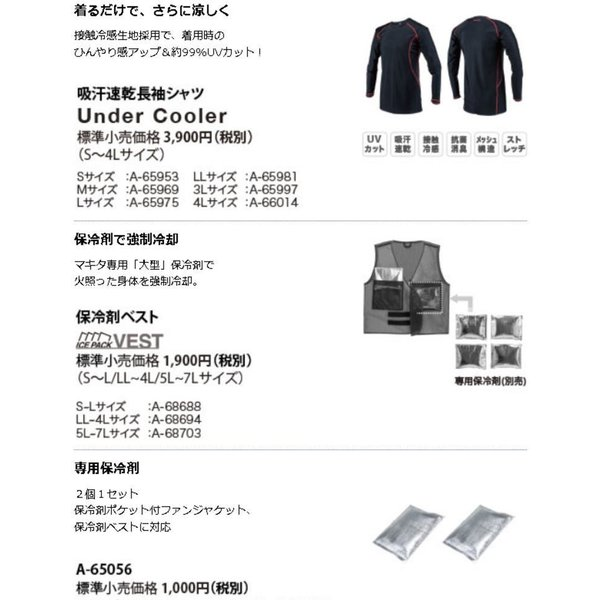 充電式ファンジャケット 2019年モデル  マキタ(MAKITA) FJ216DZ【460】|bluepeter|12